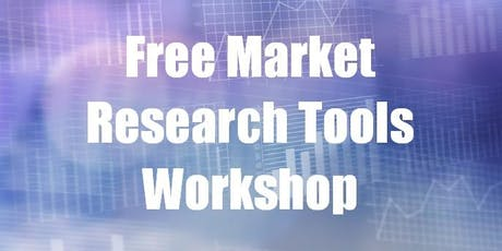 Free Market Research Tools Workshop tickets