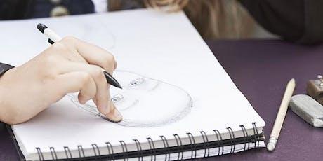 Drawing For Terrified Beginners - Art Class Toronto - Thursday Evening tickets
