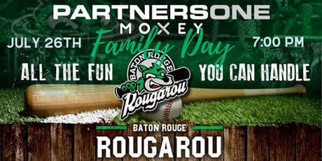 PartnersOne Member Event:  Rougarou Baseball Game tickets