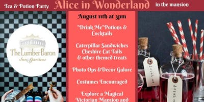 Alice in Wonderland Tea & Potion Party