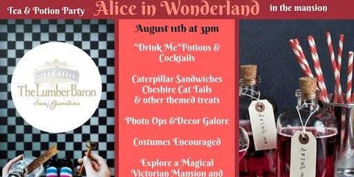 Alice in Wonderland Tea & Potion Party