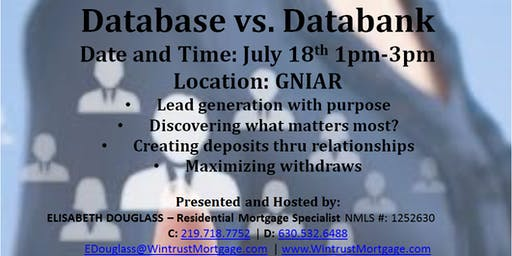 Database vs. Databank