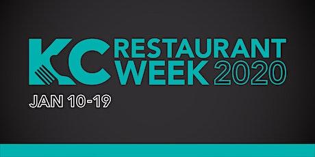 2020 Kansas City Restaurant Week tickets
