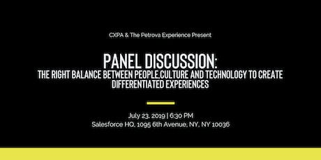 CXPA NYC Networking and Panel Event tickets