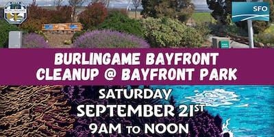 Burlingame Bayfront Cleanup (Bayfront Park)