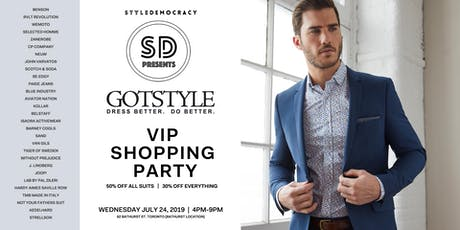 StyleDemocracy Presents: Gotstyle VIP Summer Shopping Event tickets