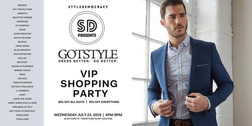 StyleDemocracy Presents: Gotstyle VIP Summer Shopping Event