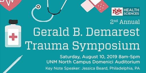 Second Annual Gerald B. Demarest Trauma Symposium