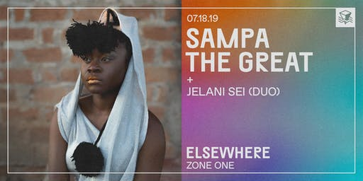 Sampa the Great @ Elsewhere (Zone One)