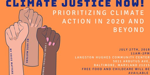 Climate Justice Now! Prioritizing Climate Action in 2020 and Beyond