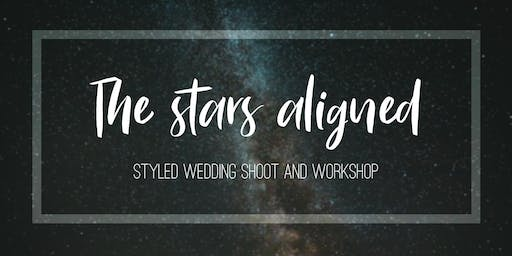 The Stars Aligned Styled Wedding Shoot and Workshop