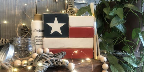 Wooden Block American Flag DIY Workshop | All Ages Welcome! tickets
