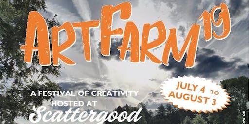 ArtFarm19 Art Bazaar: Part Two!