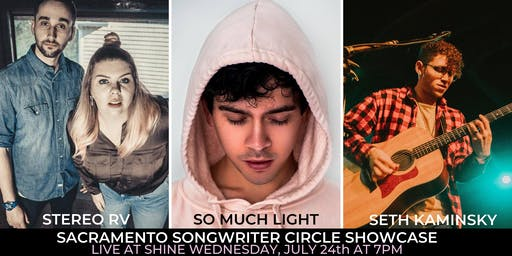 July Songwriter Circle Showcase at Shine