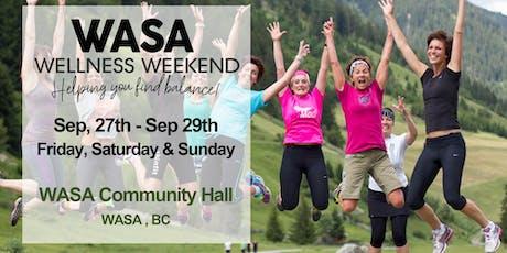 Wasa Wellness Weekend tickets