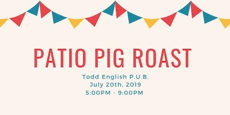 Todd English P.U.B. Patio Pig Roast tickets