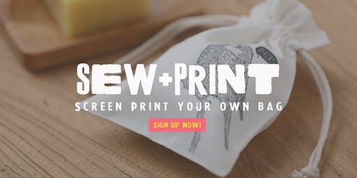 Sew & Print Workshop for Kids