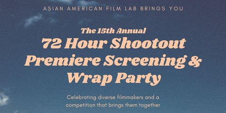 The Top Ten Films of the 2019 72 Hour Shootout: Balancing Act, Premiere & Awards Ceremony tickets