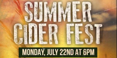 Summer Cider Fest tickets