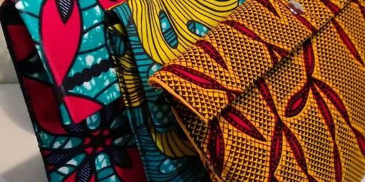 Création de pochettes en tissu ethnique