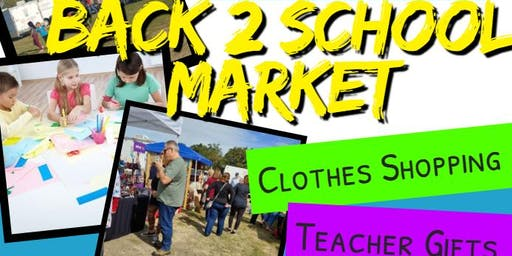 Back 2 School Market at Pasadena Trade Days