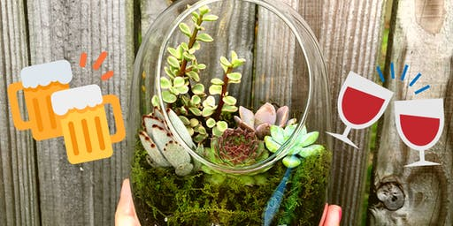 Make-N-Take: Succulent Terrariums