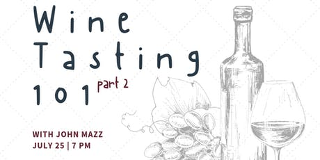 Wine Class with John Mazz tickets
