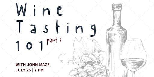 Wine Class with John Mazz
