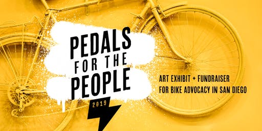 """Pedals for the People"" Art Exhibit and Bike Advocacy Fundraiser"