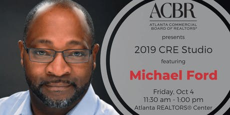 "2019 ACBR CRE Studio ""Defining Moments in Diversity"" with Michael Ford, Head of Global Real Estate & Security at Microsoft  tickets"