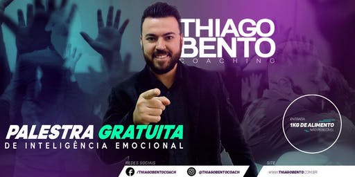 PALESTRA GRÁTIS DE INTELIGÊNCIA EMOCIONAL NA MOOCA - SP 25/07/19