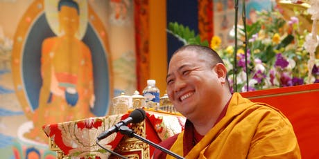 Rabjam Rinpoche  Essential Meditation Teachings: Resting in the True Nature of Mind,  tickets