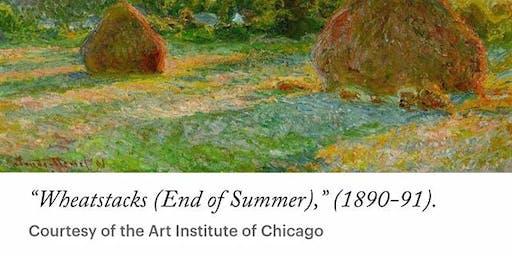 Monet Wheatstack Painting Class