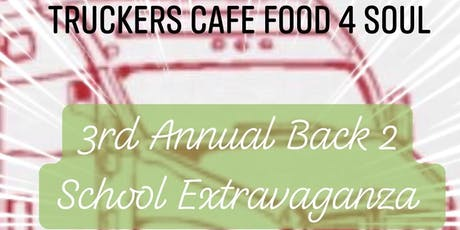 TCF4S 3rd Annual Back 2 School Extravaganza 2019 tickets