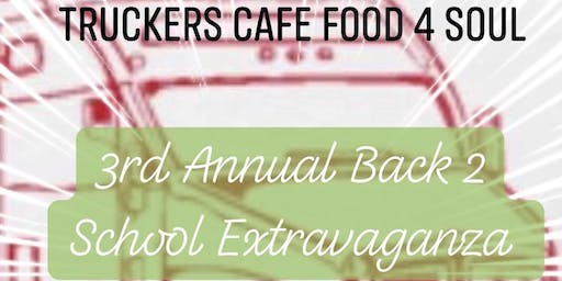 TCF4S 3rd Annual Back 2 School Extravaganza 2019