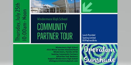 Windermere High School Community Partner Tour tickets