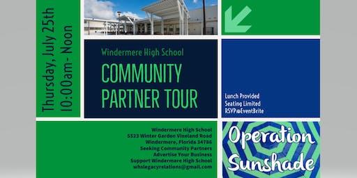 Windermere High School Community Partner Tour