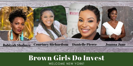 Brown Girls Do Invest New York tickets