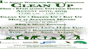 1st Annual Woodlawn Business Corridor Cleanup (free to public)