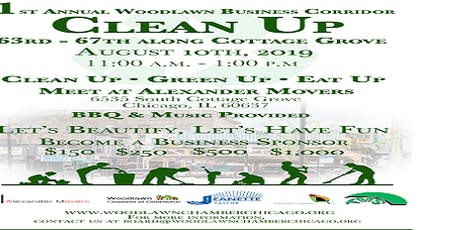 1st Annual Woodlawn Business Corridor Cleanup (free to public) tickets