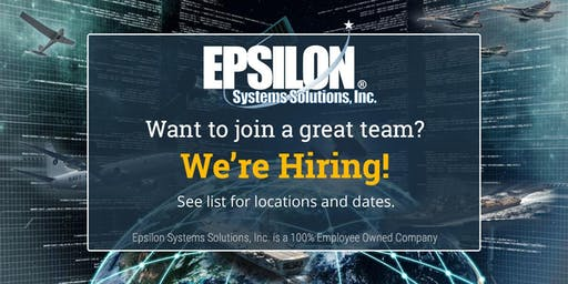 Epsilon Systems Solutions Inc. | Open House & Interview Day