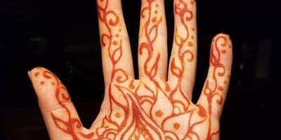 Henna Workshop with Irene