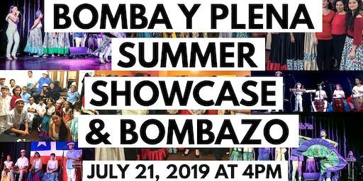 Bomba y Plena Summer Showcase and Bombazo