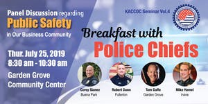 Breakfast with Police Chiefs