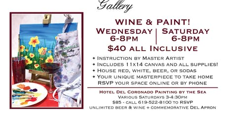 WINE & PAINT! tickets
