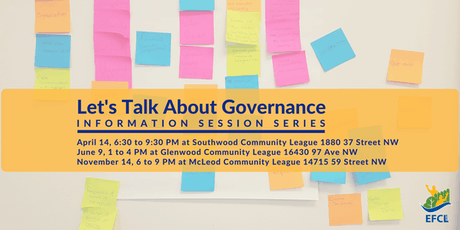 Let's Talk About Governance tickets