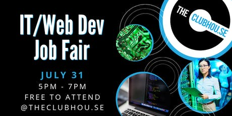 theClubhou.se IT and Web Developer Job Fair tickets