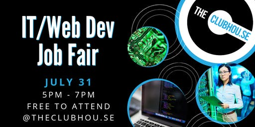 theClubhou.se IT and Web Developer Job Fair