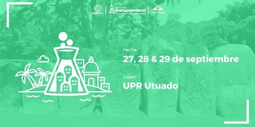 Techstars Startup Weekend | UTUADO