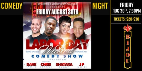 Comedy Night at the Bijou tickets